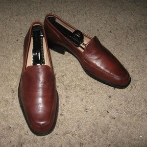 Enzo Angiolini Womens Loafers - Brown 6 1/2 M